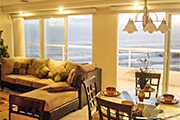 Ocean Views from Living and