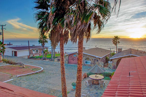 Ocean View Home in Rancho Reynoso