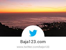 Baja123.com Twitter Page