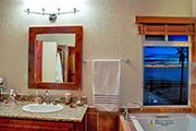 Master Bathroom with Ocean           Views