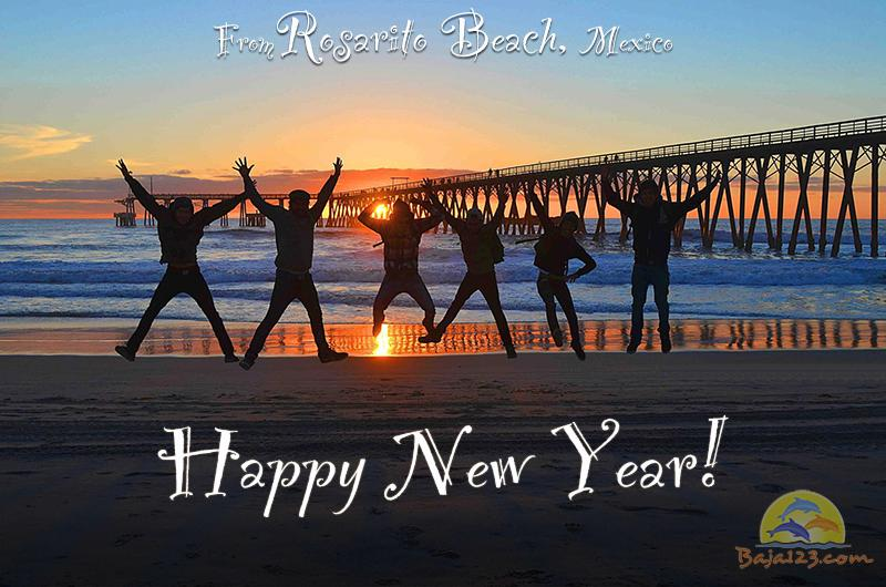 Happy New Year from Baja123.com