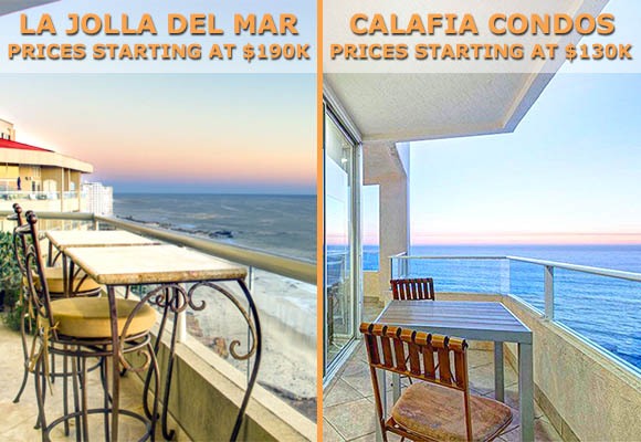 Oceanfront Developments in Rosarito