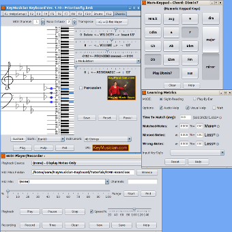 KeyMusician Keyboard Screen-Shot