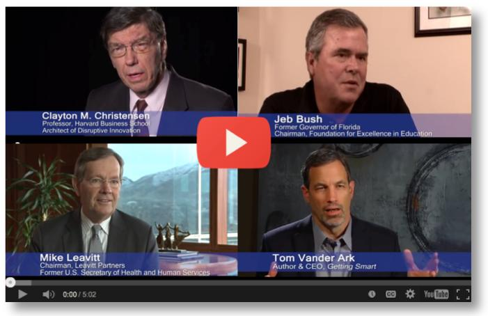 Clayton Christensen Institute Video