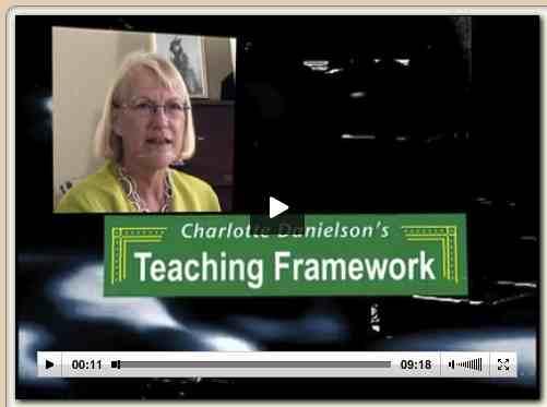 Charlotte Danielson's Teaching Framework1