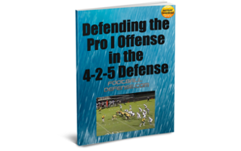Defending the Pro I Offense with the 4-2-5 Defense eBook Image