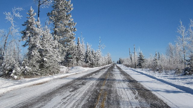 Gunflint Trail in the Winter