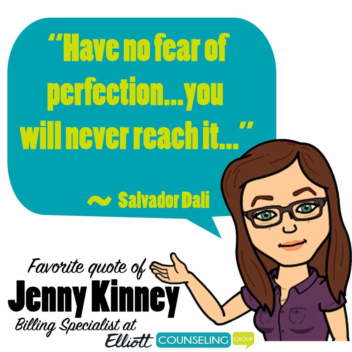 Quote from Jenny Kinney