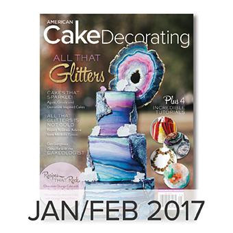 American Cake Decorating magazine Jan/Feb 2017