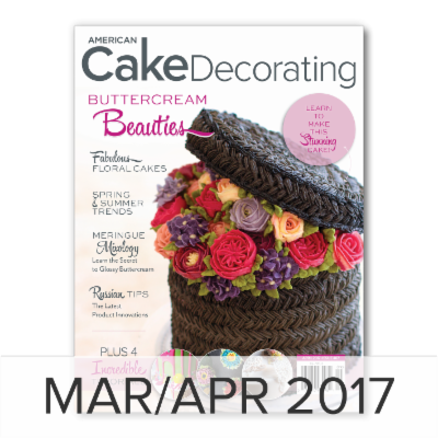 American Cake Decorating March/April 2017