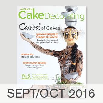 American Cake Decorating magazine Sept/Oct 2016