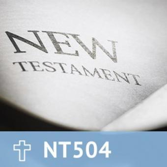 27, NT 504 The Gospels/Life of Christ thumbnail