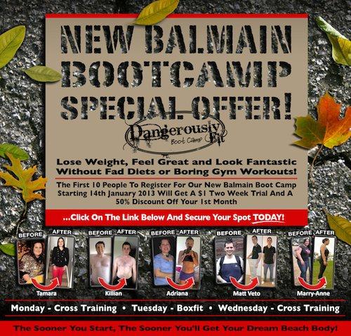 Balmain Boot Camp