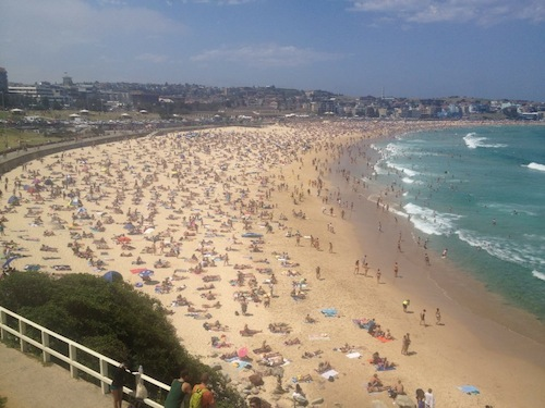 Bondi Beach - New Years Day.