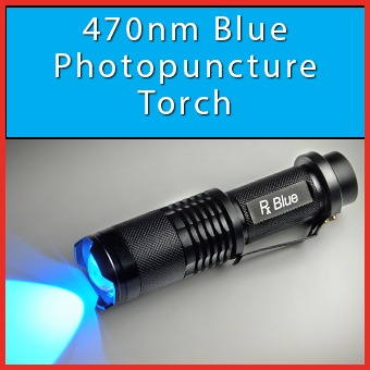 470nm Blue Photopuncture Torch thumbnail