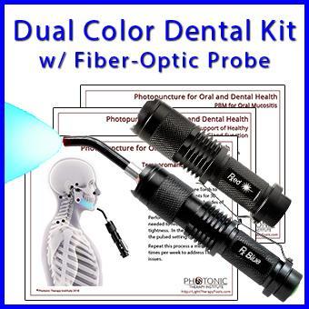 Dual Color Dental Kit with Fiber-Optic Probe thumbnail