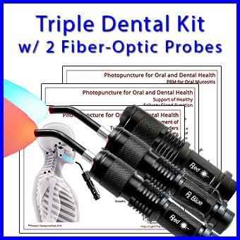 Triple Dental Torch Kit with 2 Fiber-Optic Probes thumbnail