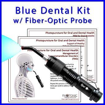 Blue Dental Kit with Fiber-Optic Probe thumbnail