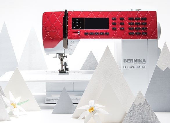 BERNINA 530 Swiss Red and Quilt Festival Specials - TheQuiltShow.com