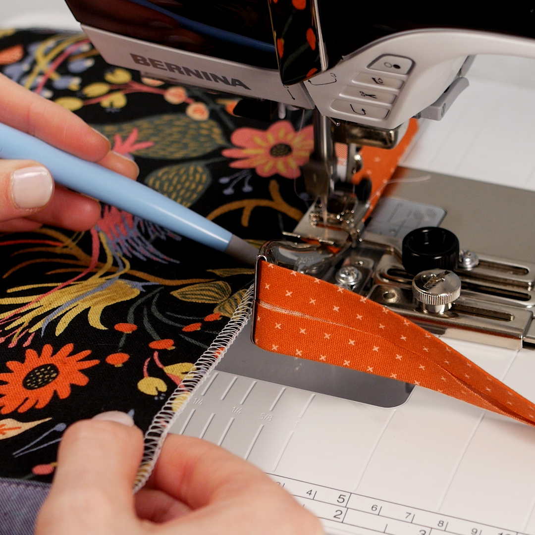 Weallsew Tutorial Refine Your Binding Technique Bernina 830 Sewing Machine Threading Diagram There