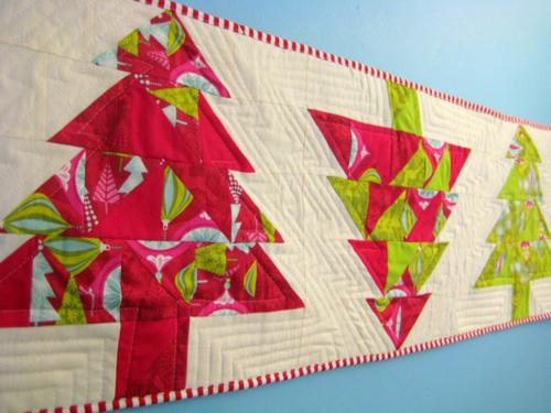 Free Project Christmas Tree Table Runner From Love By Hand And