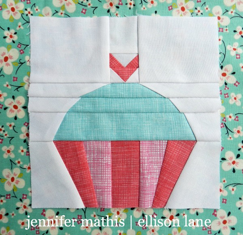 Such a Sweet Sew Along You'll Need to See the Dentist ... : cupcake quilt - Adamdwight.com