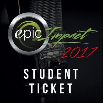 Impact 2017 Student Ticket