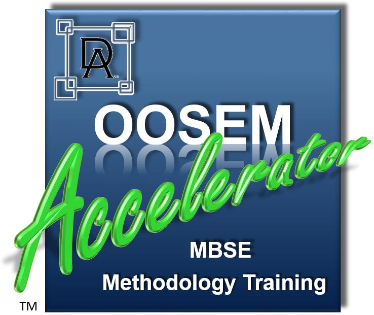 OOSEM Accelerator MBSE Methodology Training Course Logo