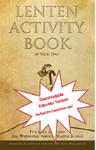Lenten Activity Book Download