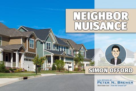 Neighbor Nuisance