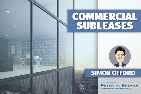 commercial subleases