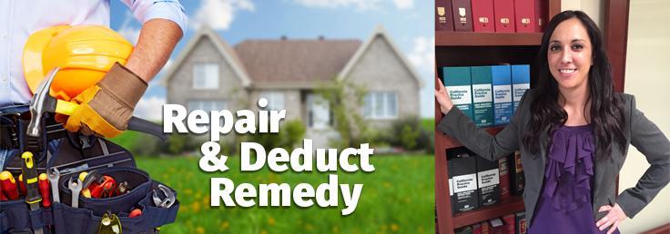 Repair & Deduct Article