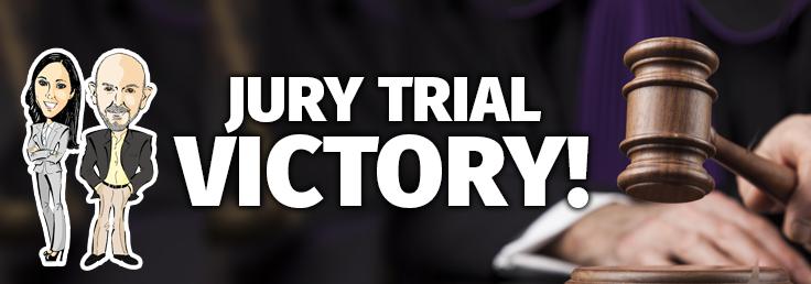 jury trial victory
