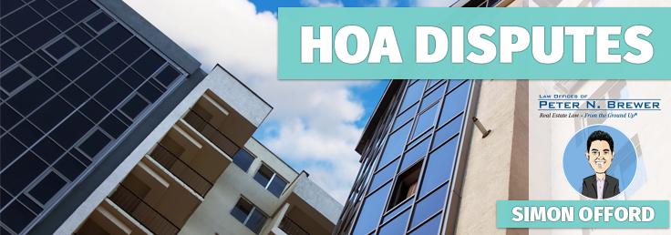 HOA disputes