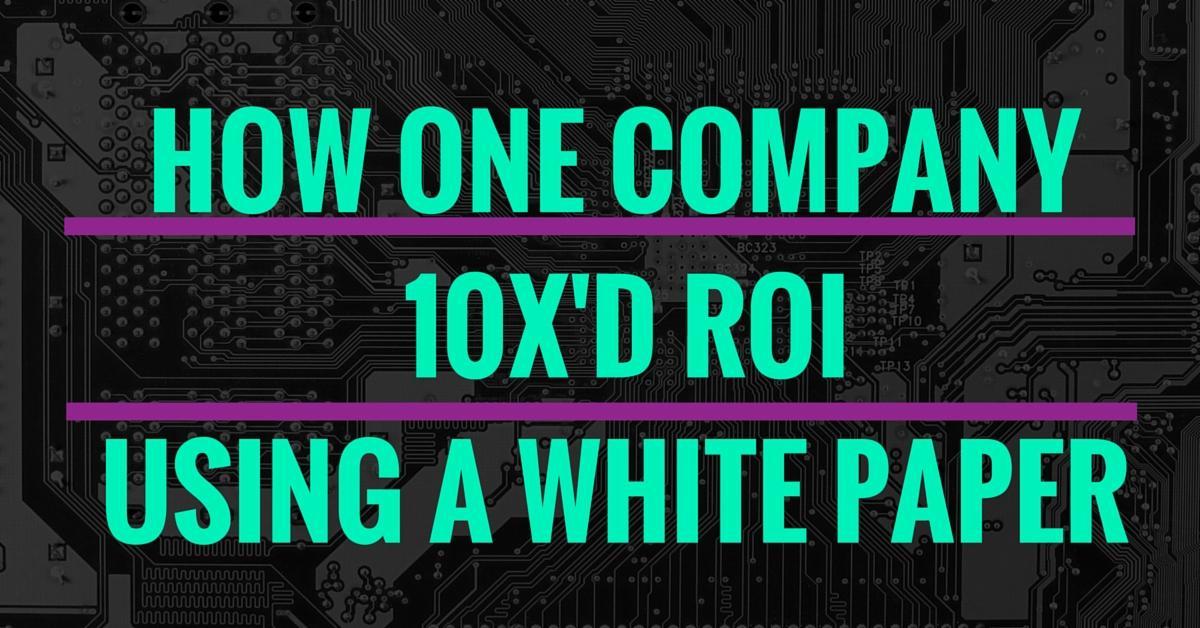 10x your roi