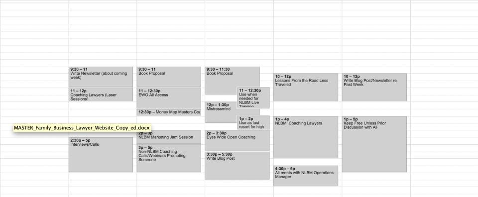 4thquarter calendar