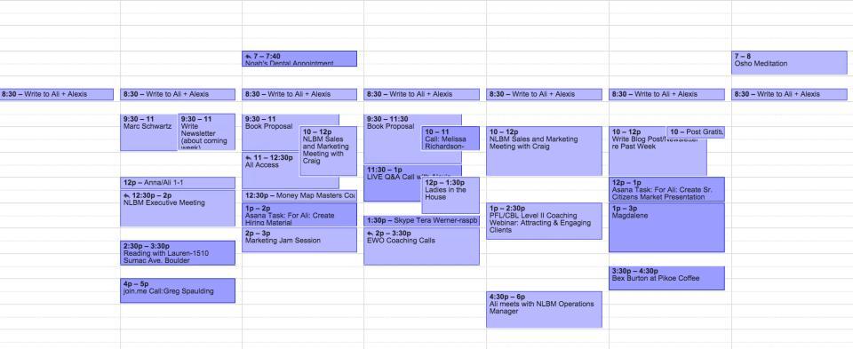Ali Calendar