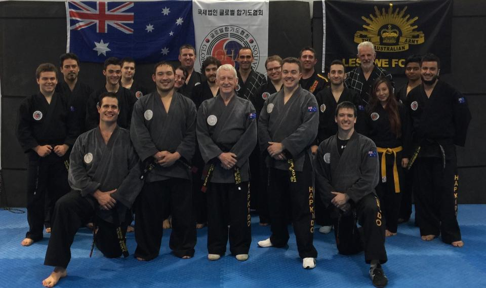 Masters, Black Belts & Students who attended the GHA Seminars