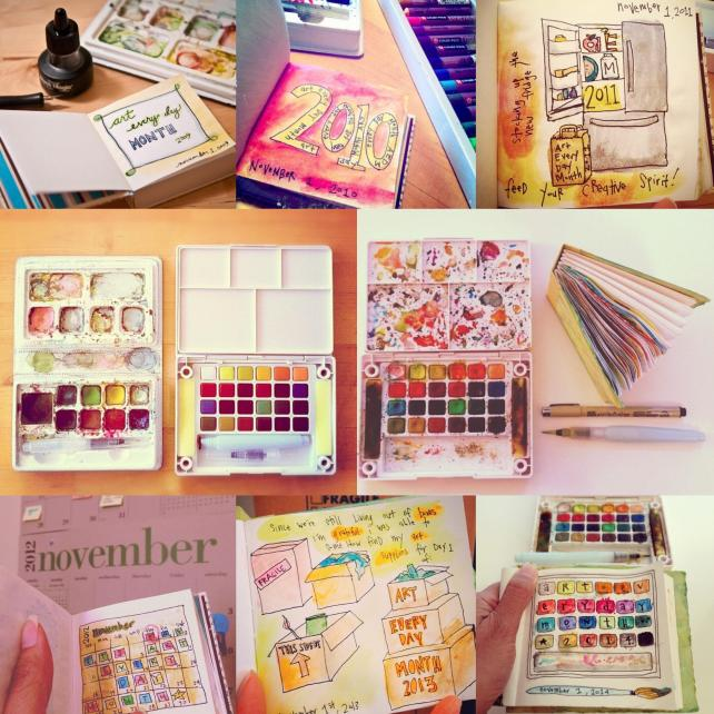 Make Time for Your Art – Join the 2015 Art Every Day Month Challenge thumbnail