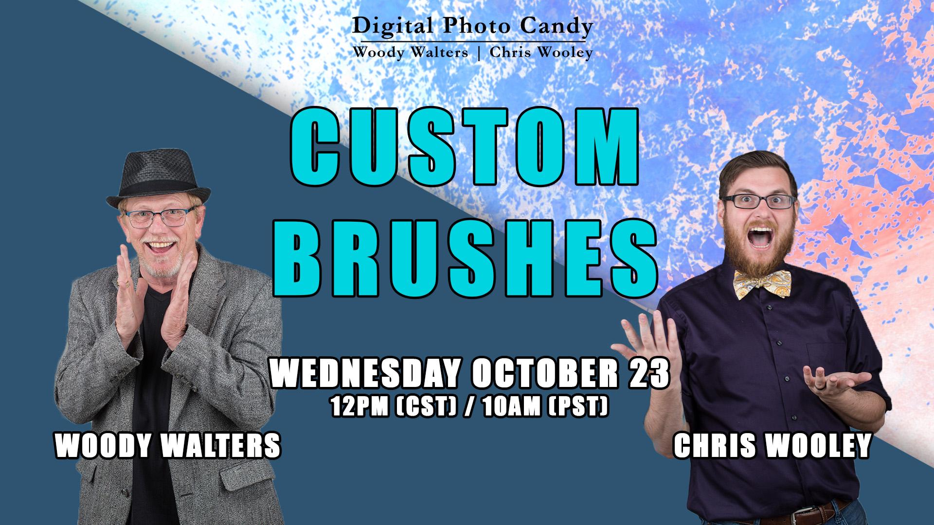 Custom Brushes Webinar