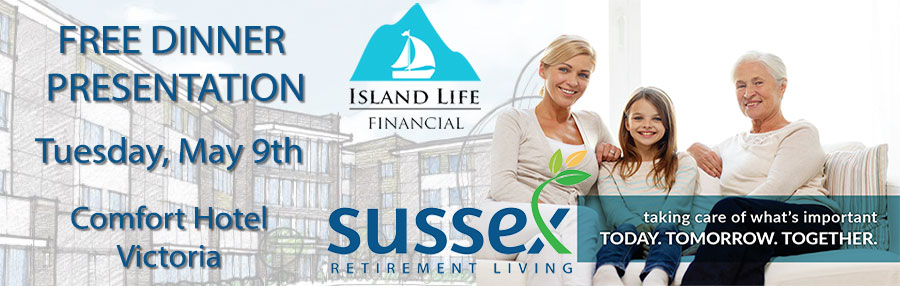 Sussex Free Dinner Presentation - May 9th, 2017