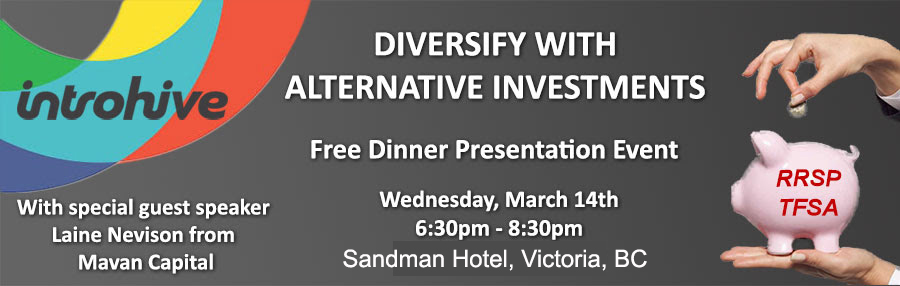 Diversify with Alternative Investments