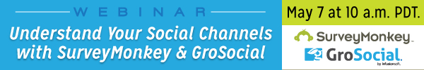 Webinar: Understand Your Social Channels with SurveyMonkey and GroSocial