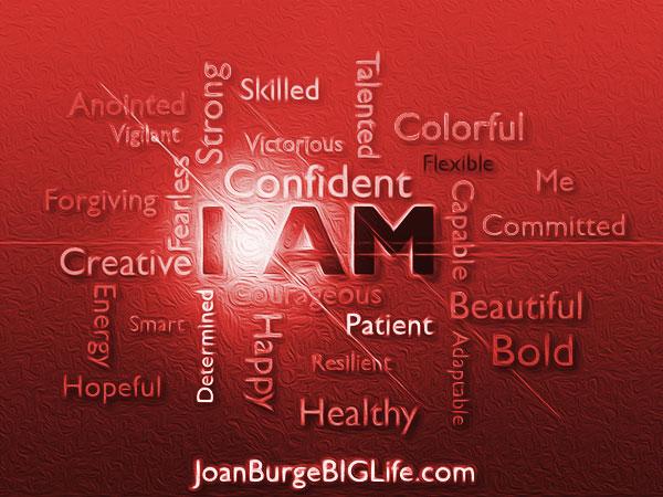 """Affirmations """"I am"""""""