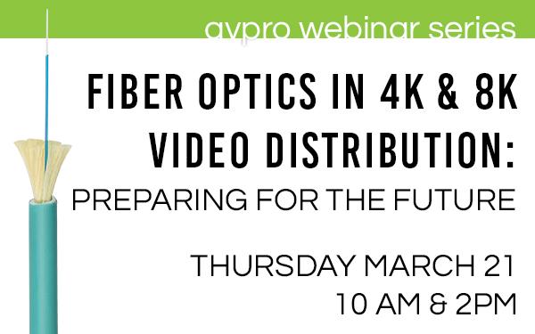 Fiber Optics in 4K & 8K Educational Event