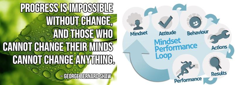 George Bernard Shaw- Progress is Impossible without change
