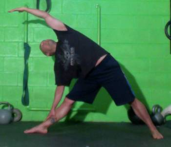 Yun Improvement Warrior Yoga Pose