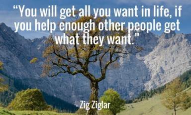 zig ziglar quote help people get what they want in life