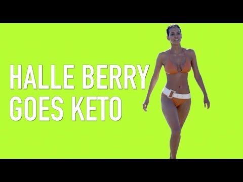 Halle Berry Goes Keto Diet