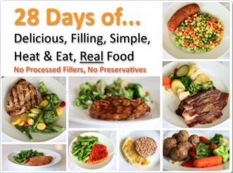 28 days of food